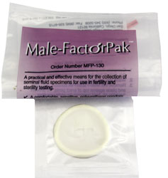 Male Factor Pak ( Semen Collection Kit )